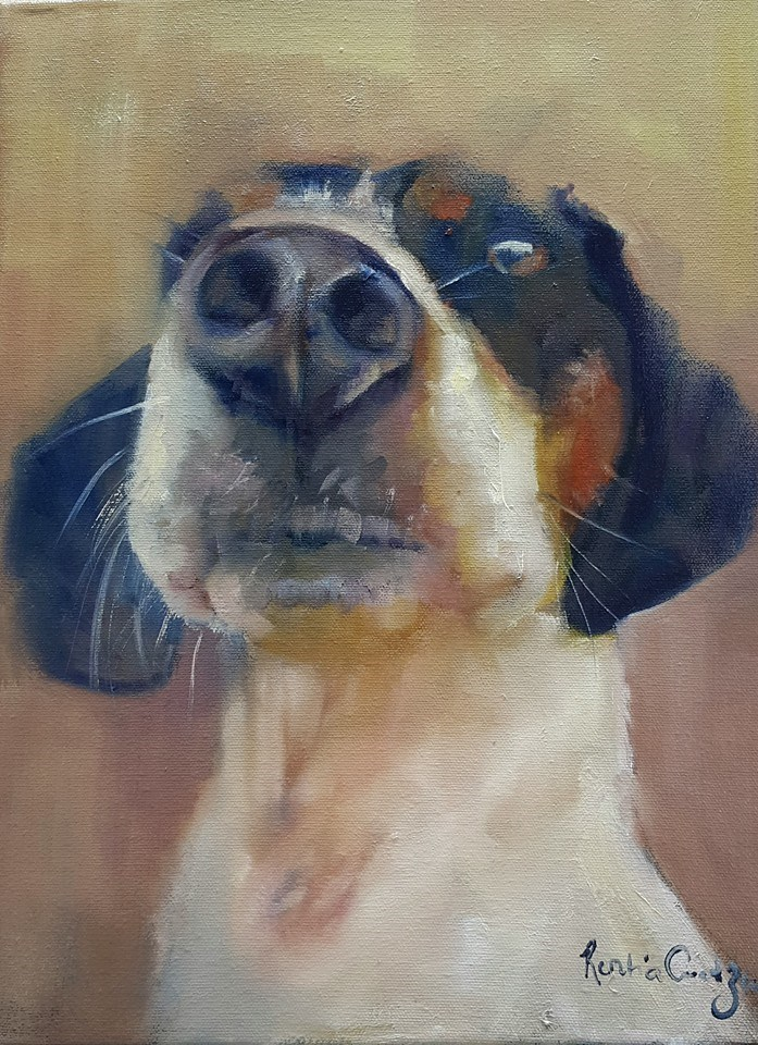 """Katryn"" original fine art by Rentia Coetzee"