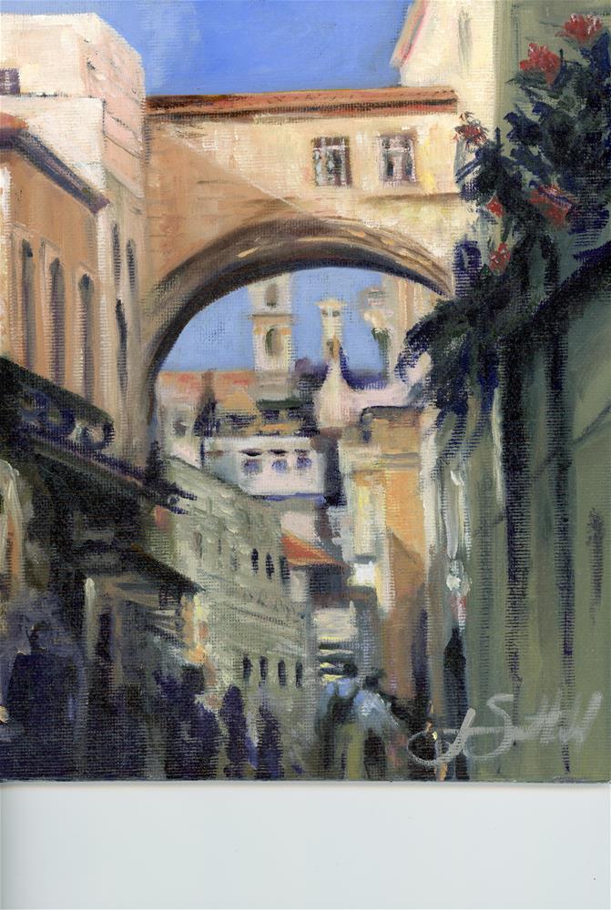 """""""Old City, Jerusalem"""" original fine art by  Janet Setterland"""