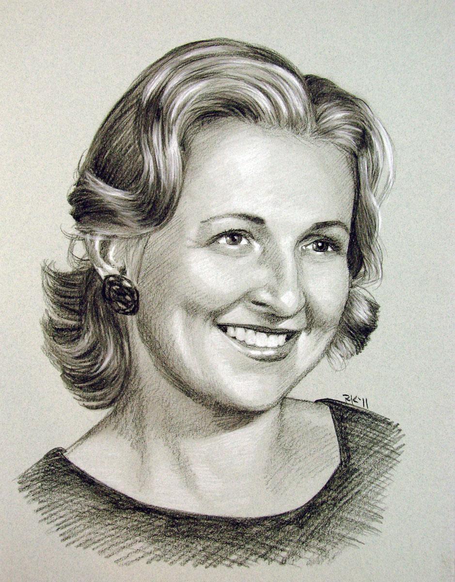 """A Mother's Portrait"" original fine art by Rita Kirkman"