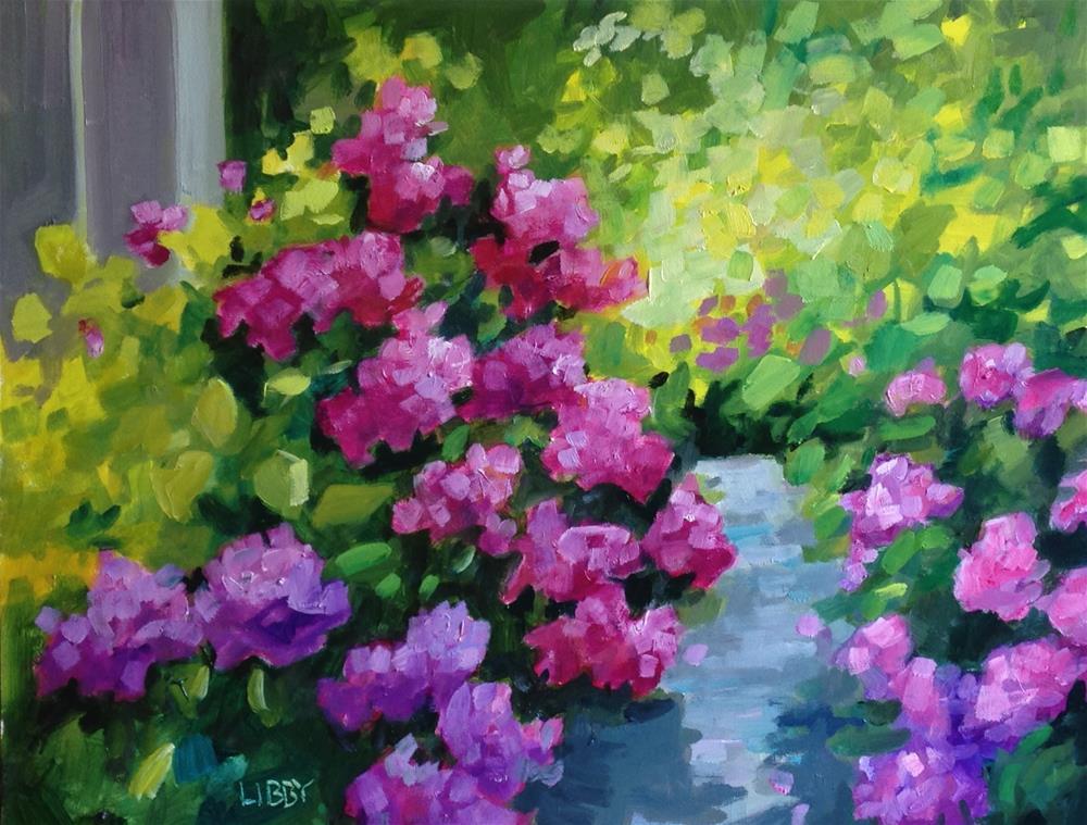"""Adagio"" original fine art by Libby Anderson"