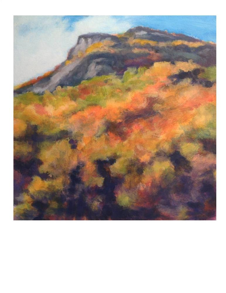 """White Moutains in Fall"" original fine art by Suzanne Woodward"