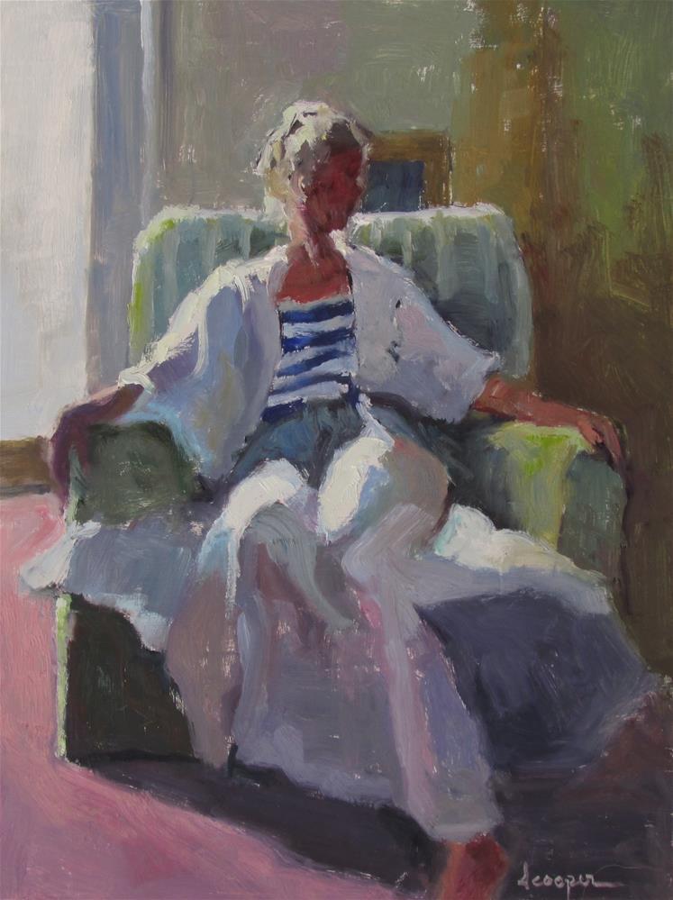 """""""Striped"""" original fine art by Dana Cooper"""