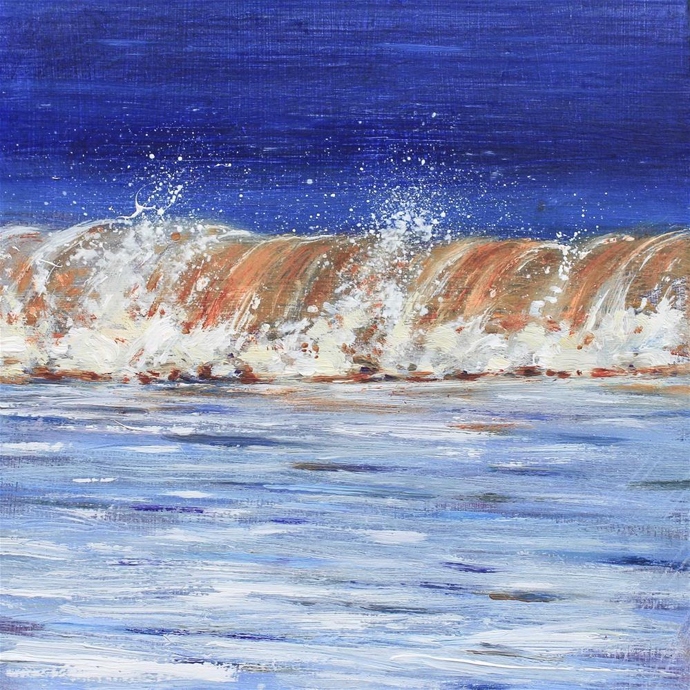 """""""Roller Coaster"""" original fine art by Ken Devine"""