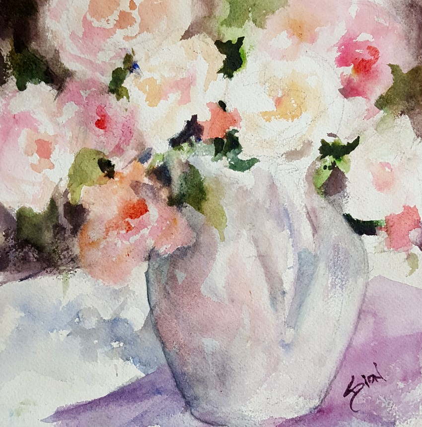 """Summer Light"" original fine art by Sue Dion"