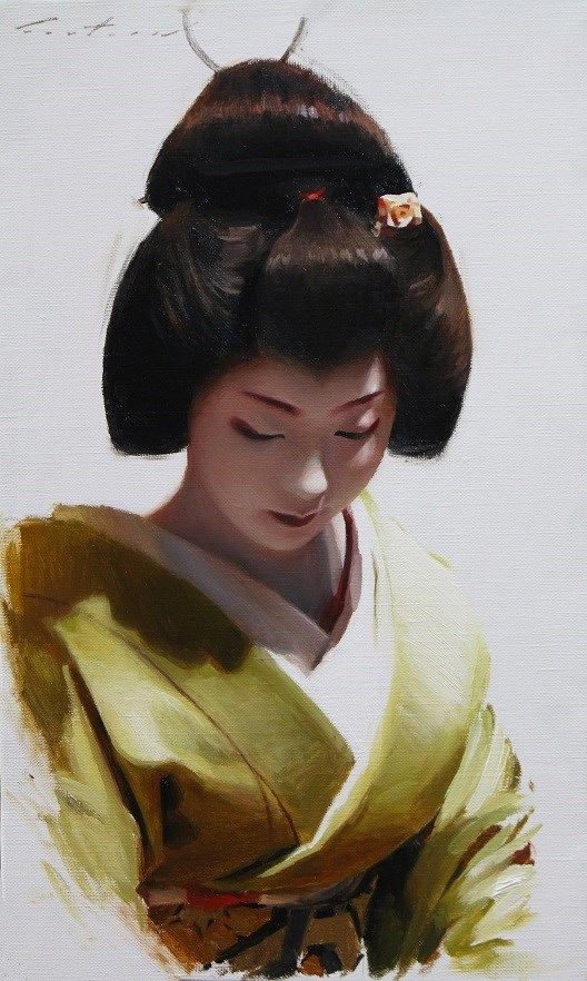 """Toshimana"" original fine art by Phil Couture"