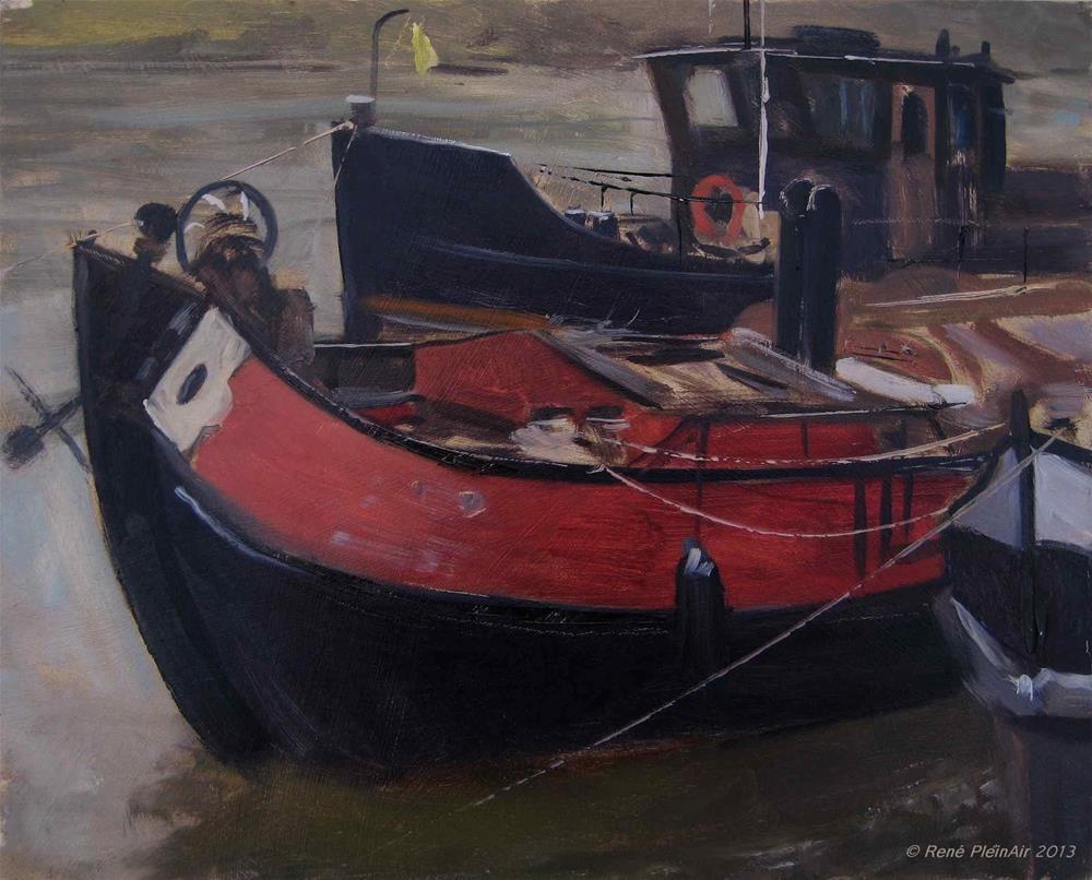 """De Jonge Aaltje. Arnhem, Holland."" original fine art by René PleinAir"