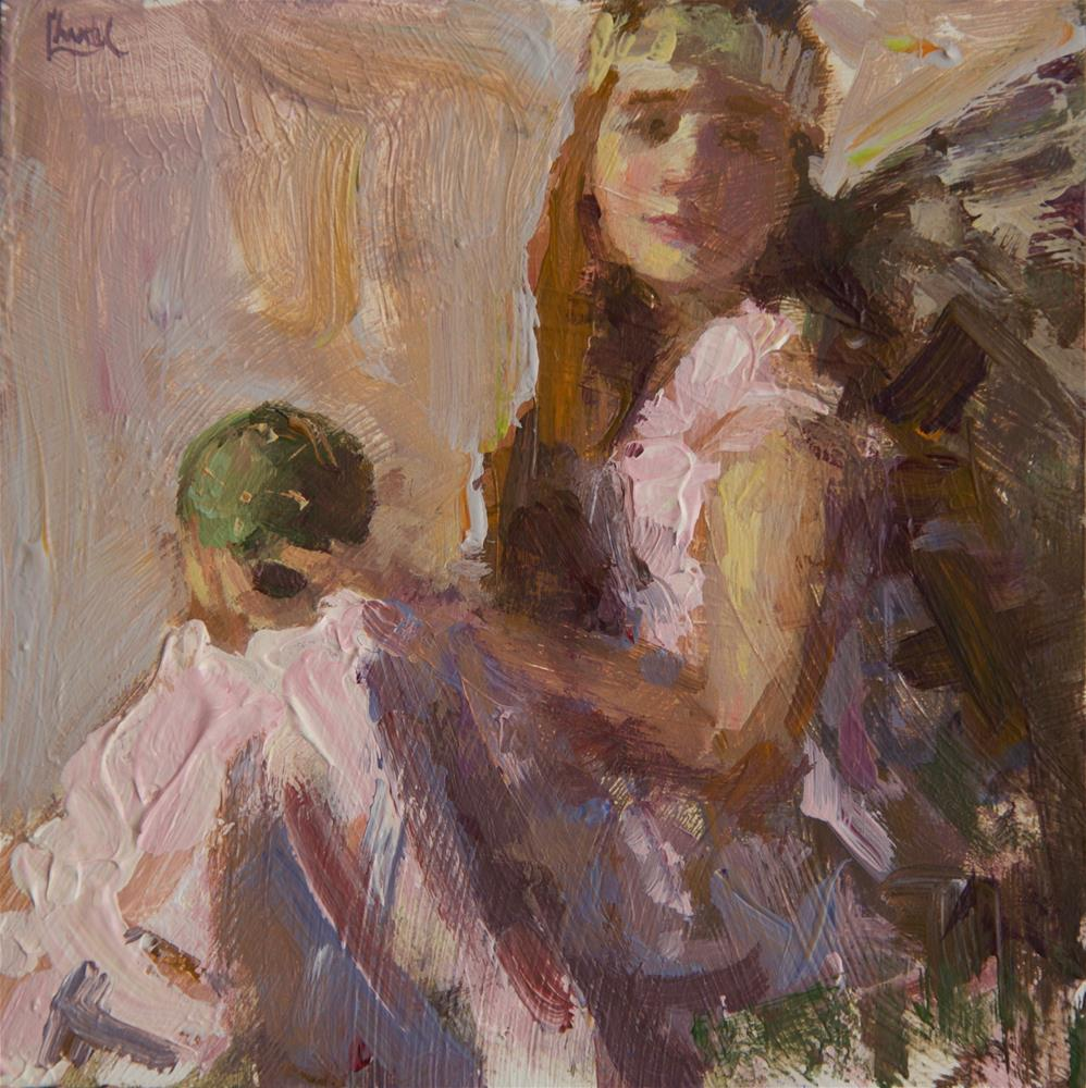 """Enchanted"" original fine art by Chantel Barber"