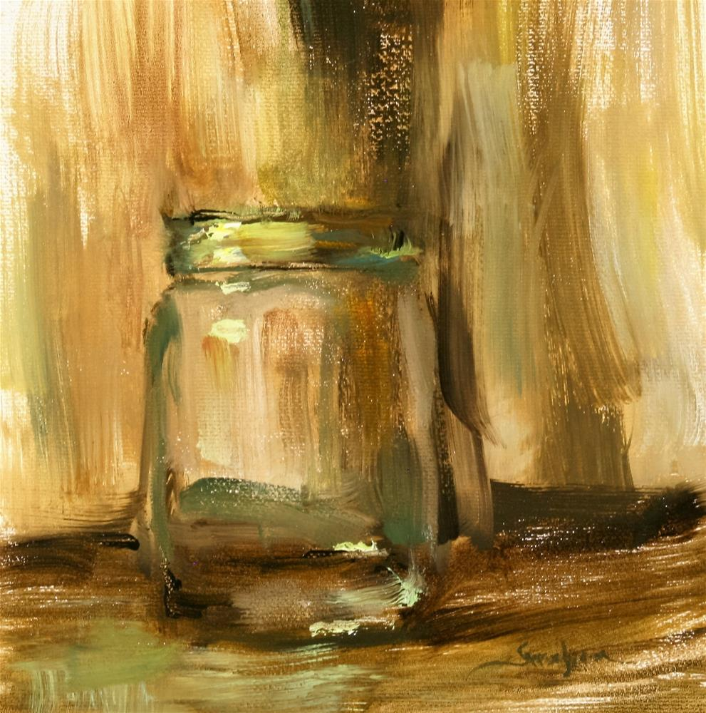 """Mason Jar"" original fine art by Scott Serafica"