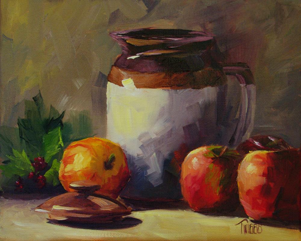 """""""Autumn Break Time"""" original fine art by Lori Twiggs"""