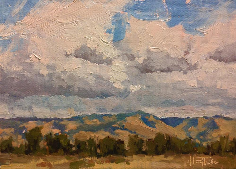 """Walla Walla Summer"" original fine art by Melanie Thompson"
