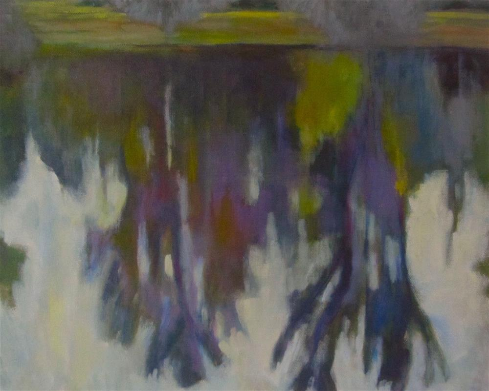 """Twin Lakes Reflections"" original fine art by Patricia MacDonald"