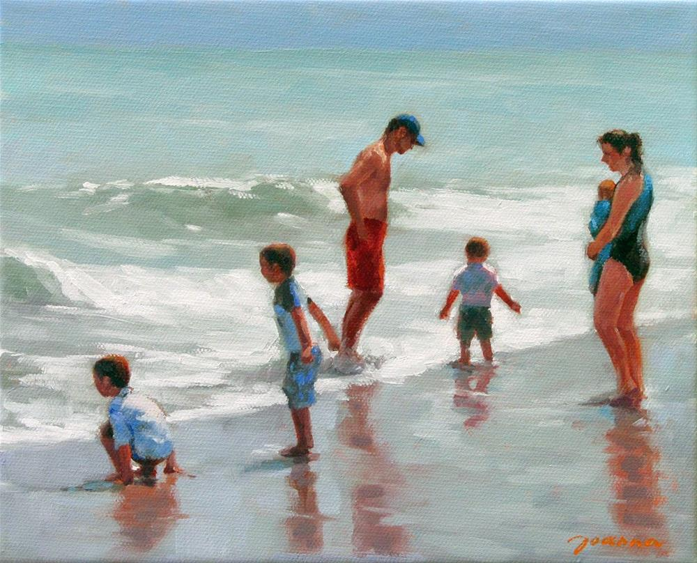 """Multi-Play"" original fine art by Joanna Bingham"