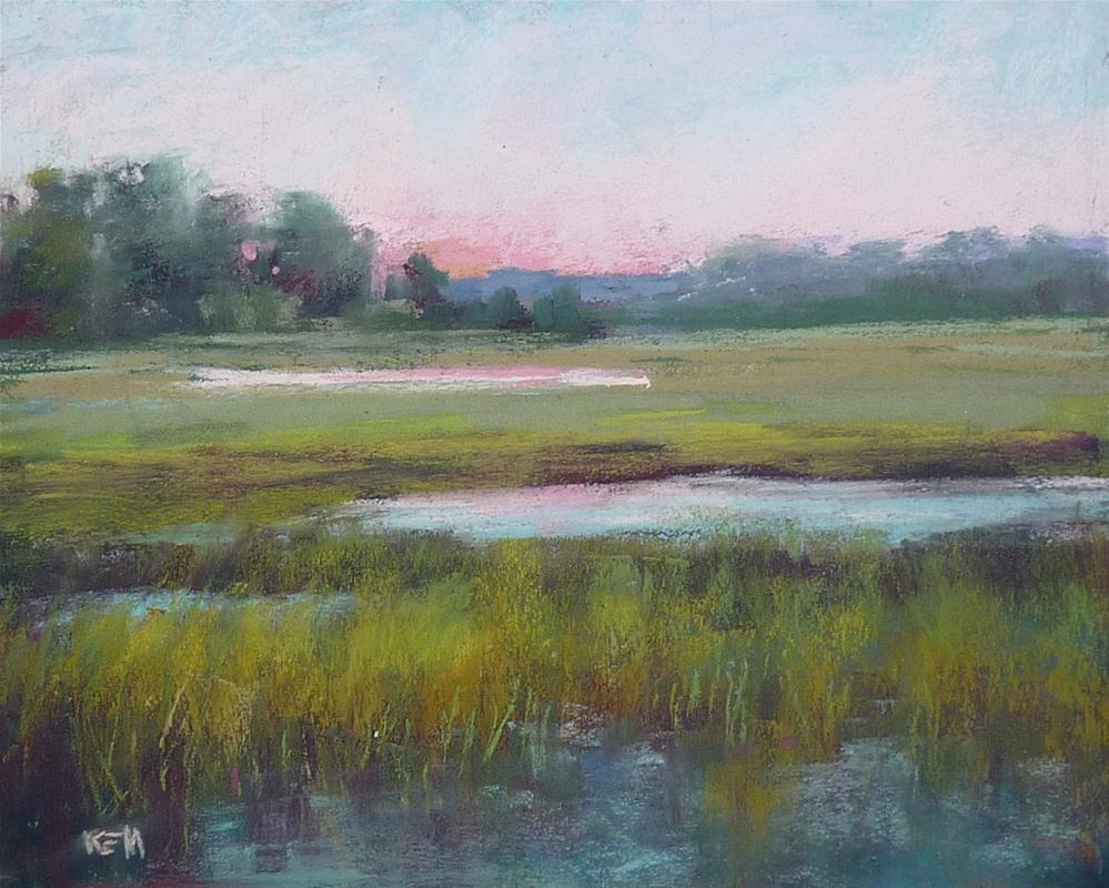 """Creating a Body of Work ...Lowcountry Marsh Paintings"" original fine art by Karen Margulis"