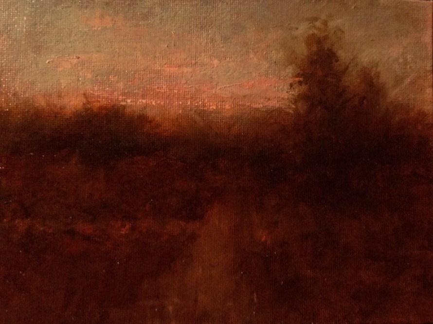 """Red"" original fine art by Dj Laurienzo"