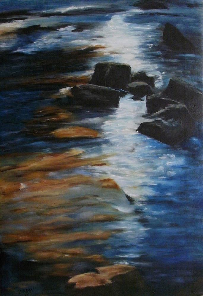 """""""Path of Sunshine"""" original fine art by Lynn Darby"""