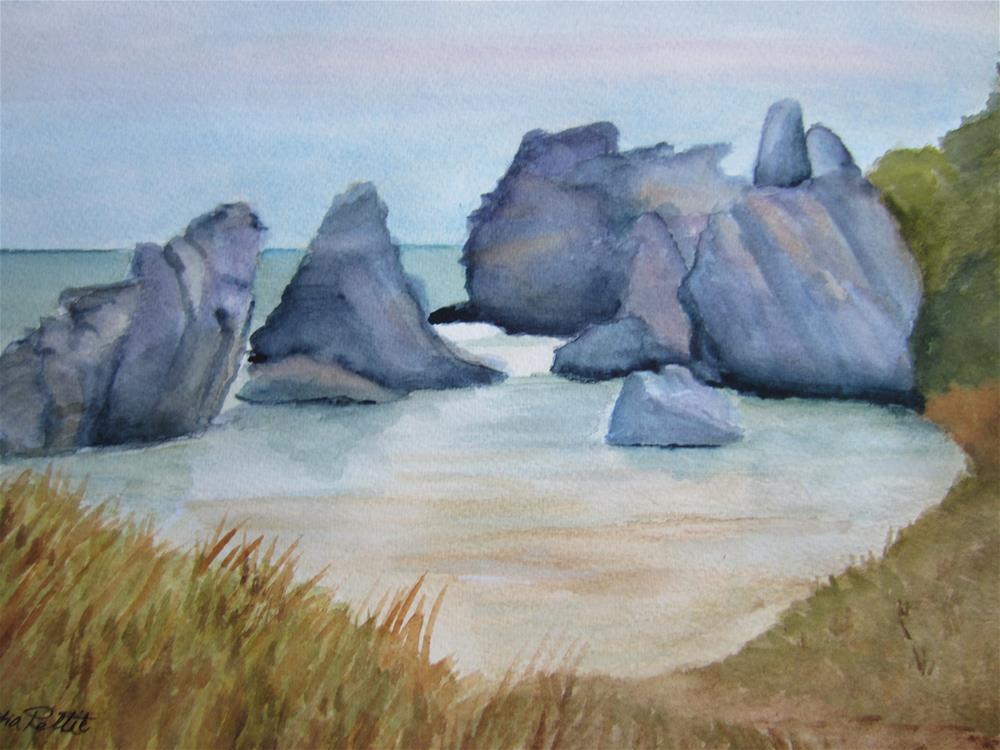 """Horseshoe Beach"" original fine art by Dolores Pettit"