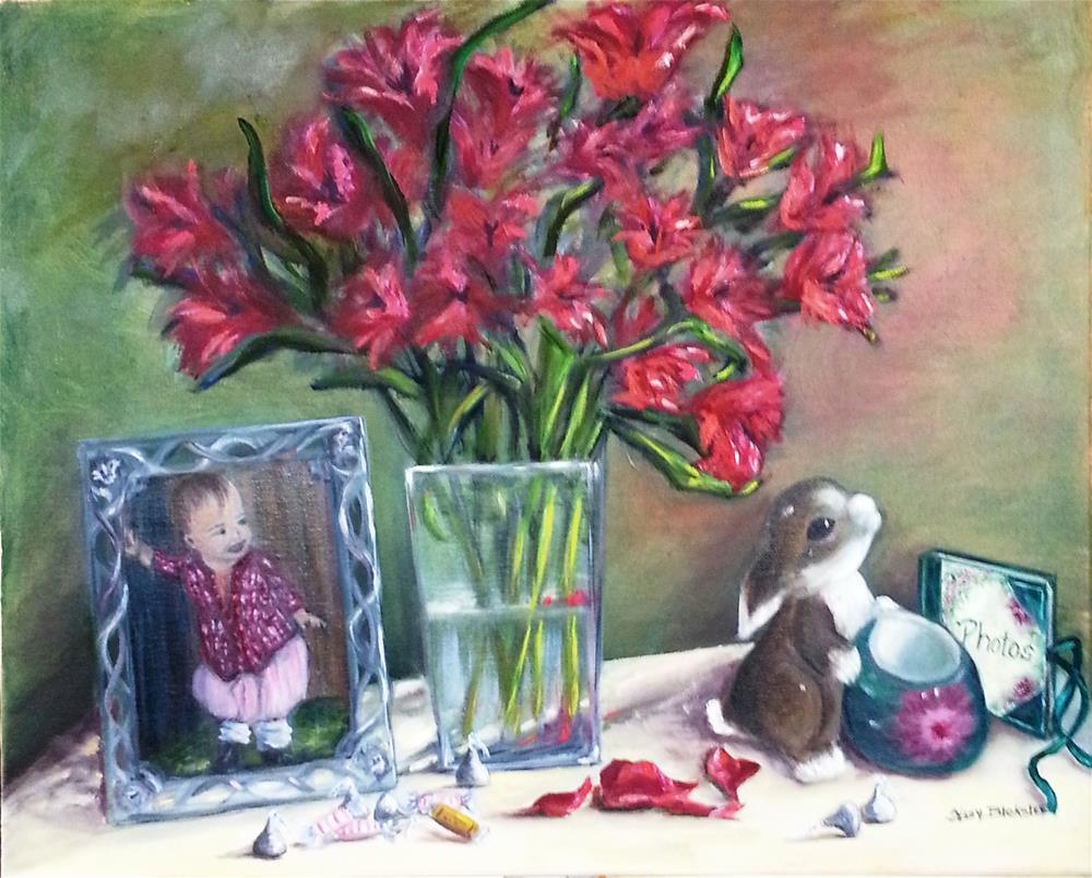 """""""Sweet Things"""" original fine art by Sissy Blakslee"""