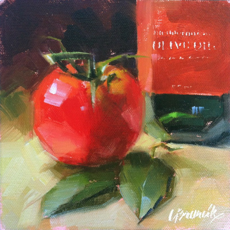 """Italian Tonight"" original fine art by Candace Brancik"