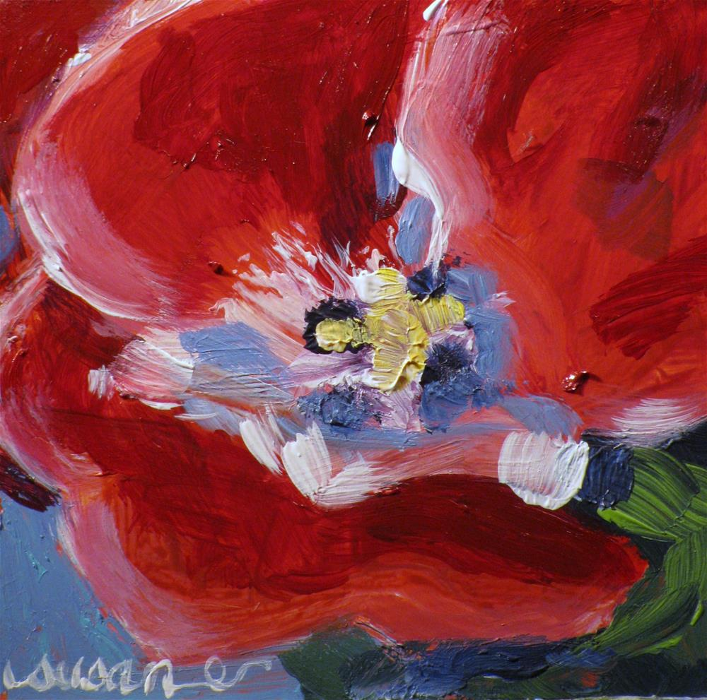"""Tulip"" original fine art by Susan Elizabeth Jones"