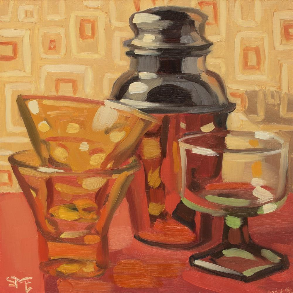 """Thoroughly Modern"" original fine art by Sheila Evans"