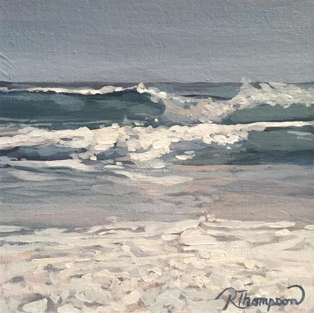 """Waves"" original fine art by Rachel Thompson"
