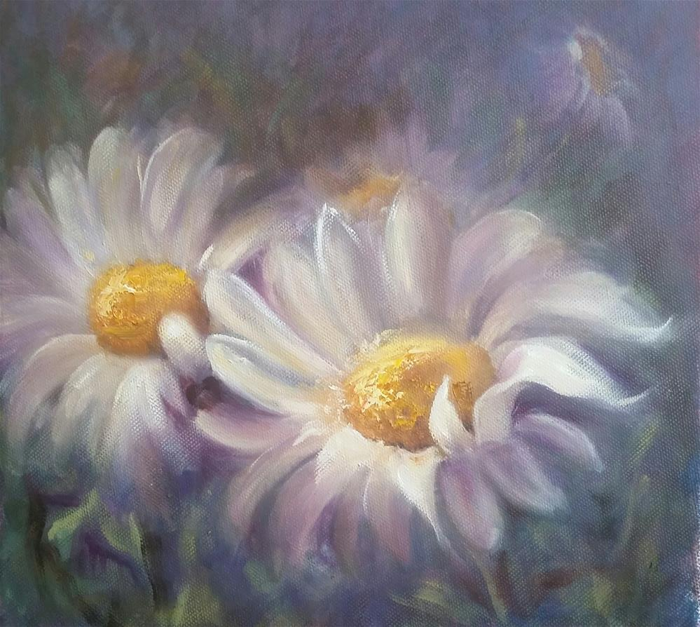 """Oops-a-daisy!"" original fine art by Ronel Alberts"