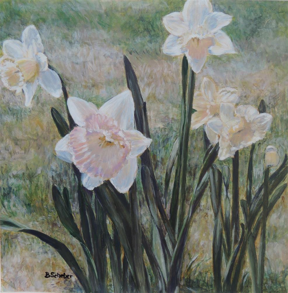 """Spring Glamor"" original fine art by Belinda Scheber"