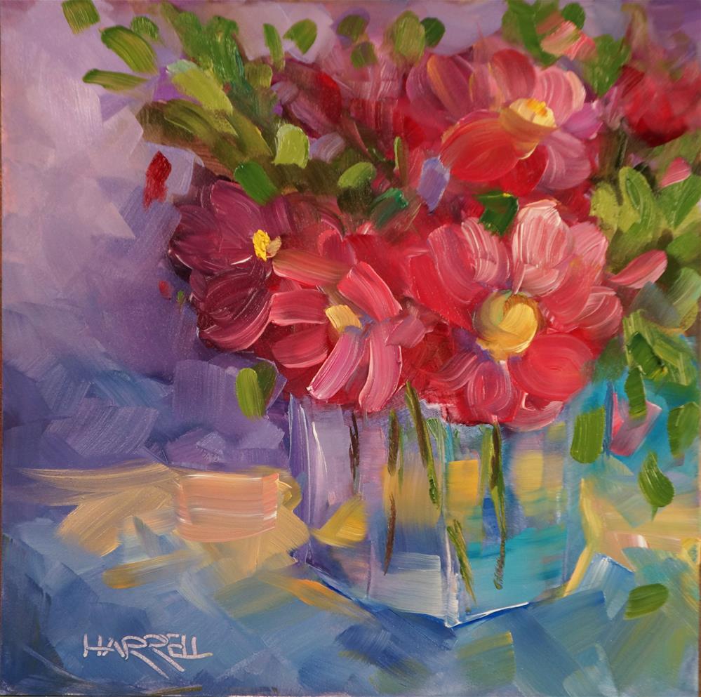 """""""Color Therapy"""" original fine art by Sue Harrell"""