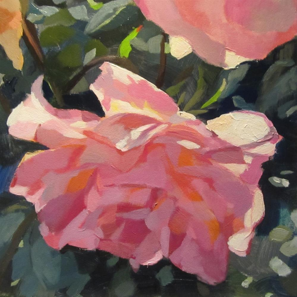 """Brun's Rose"" original fine art by Kaethe Bealer"