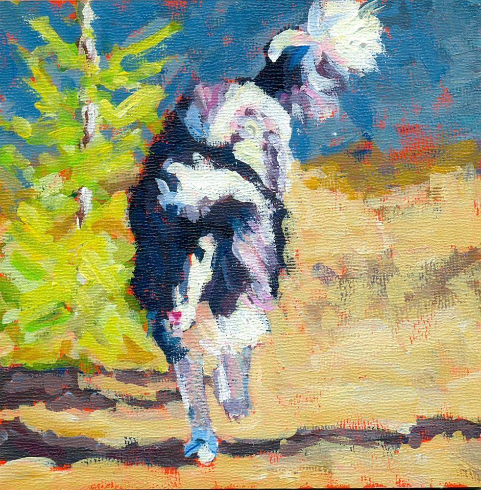 """my girl"" original fine art by Shelley Garries"