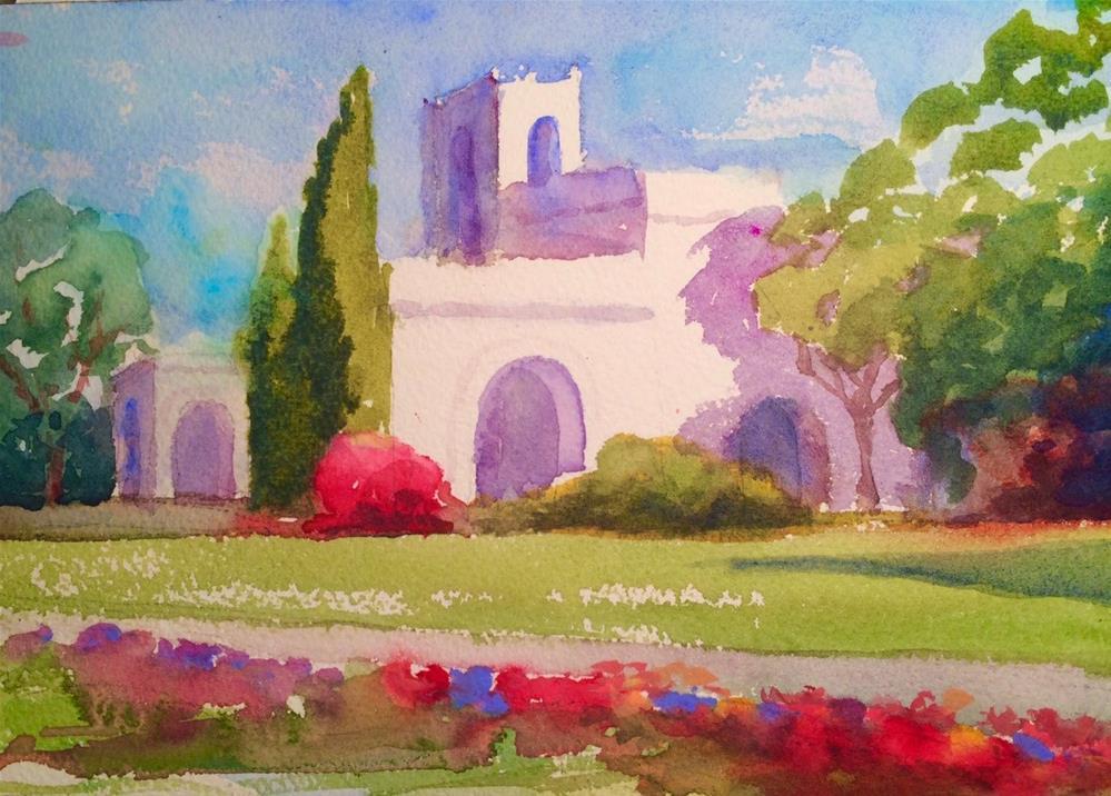 """Balboa Park"" original fine art by Katharine Engh"