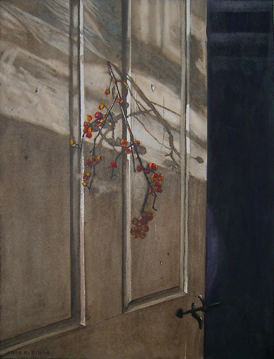 """Bittersweet Door"" original fine art by Kara K. Bigda"