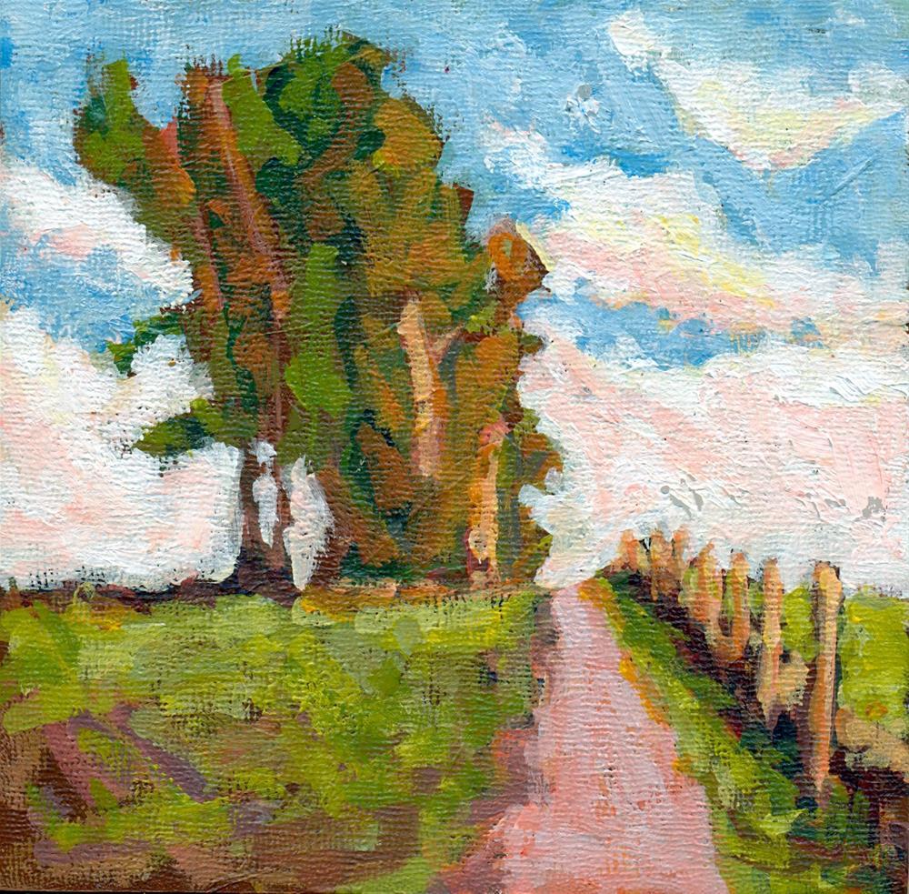 """i'll follow you"" original fine art by Shelley Garries"
