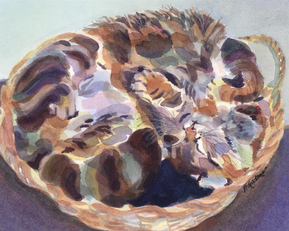 """Soundly Roundly"" original fine art by Pamela Gatens"