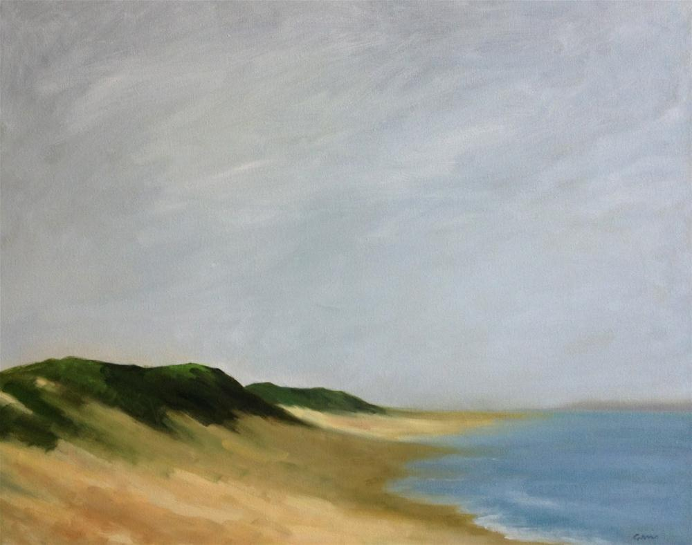 """Wellfleet Dunes"" original fine art by Michelle Garro"