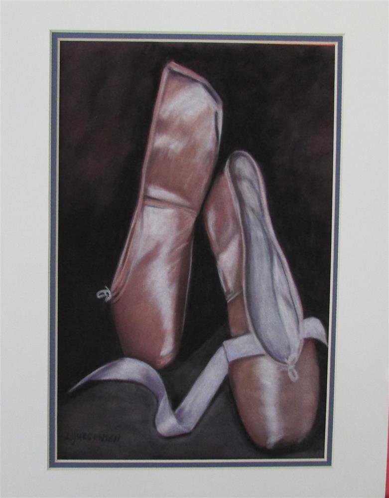 """""""8.50 x 11 inch pastel"""" original fine art by Linda Yurgensen"""