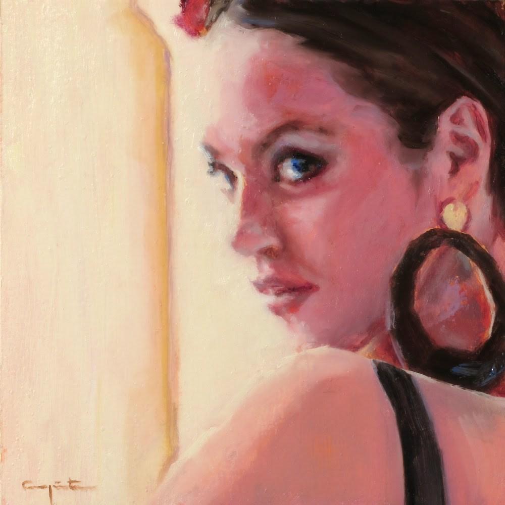 """""""Tuna"""" original fine art by Eduardo Carpintero"""