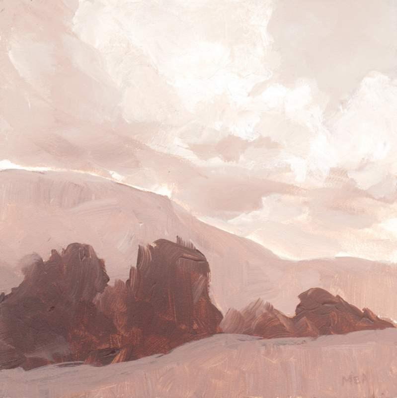 """Approaching Storm"" original fine art by Meredith Adler"