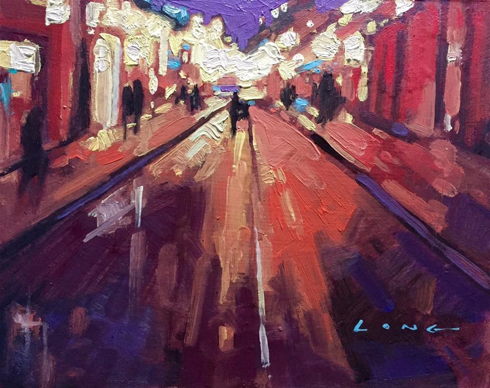 """Royal Street, New Orleans"" original fine art by Chris Long"