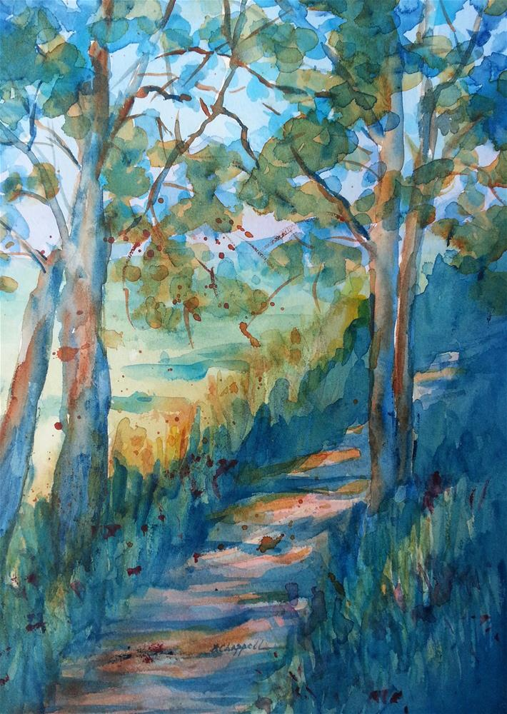 """Intimate Path"" original fine art by Becky Chappell"