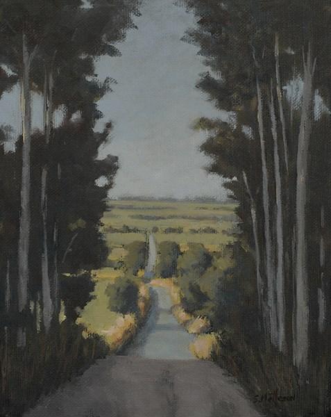 """The Long View"" original fine art by Susan Matteson"