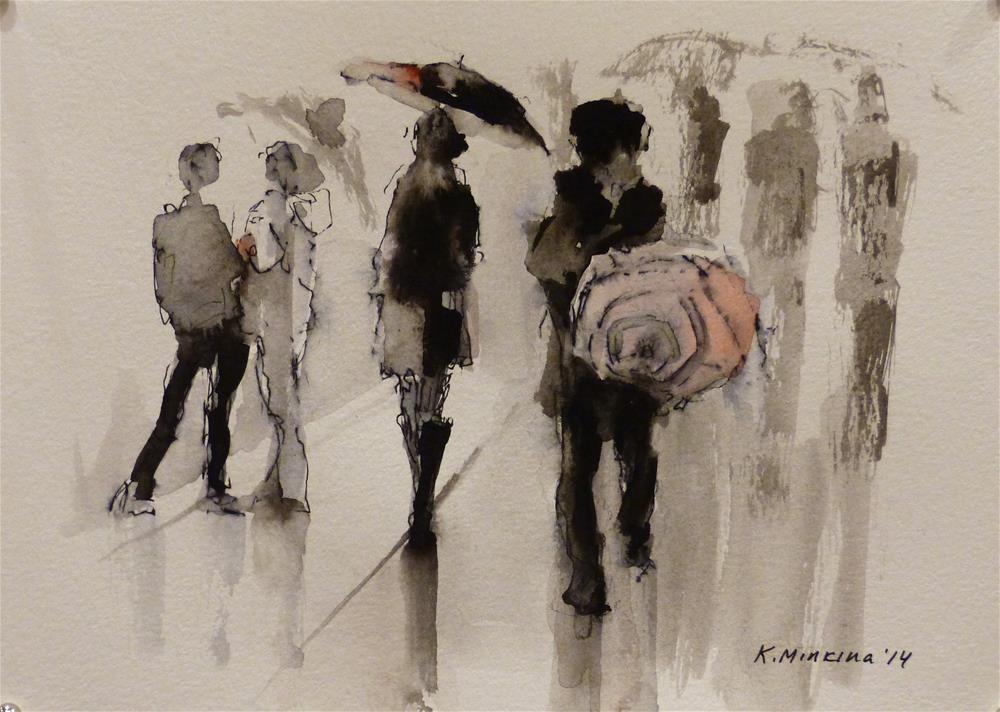 """urban35"" original fine art by Katya Minkina"