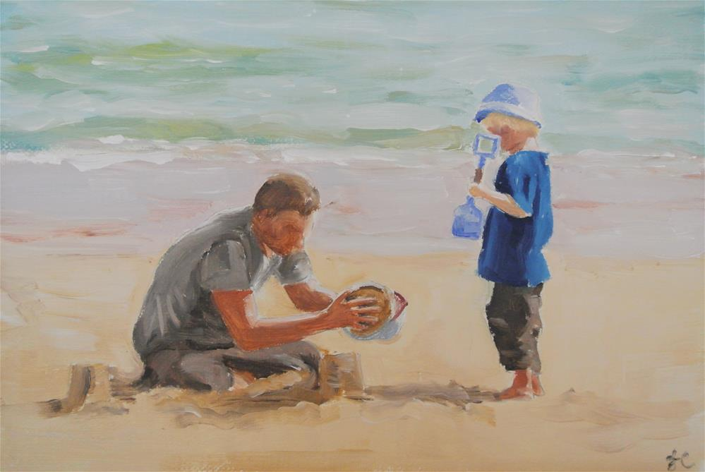 """Beach Boys"" original fine art by James Coates"