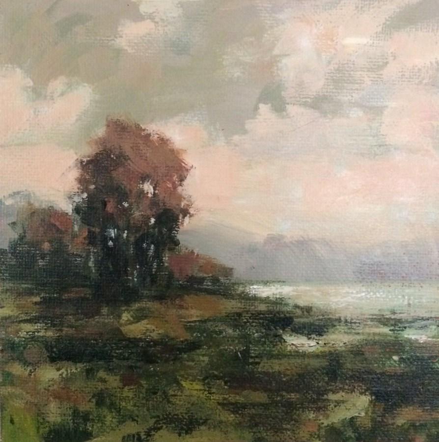 """""""Some Quiet Evening"""" original fine art by Shannon Bauer"""