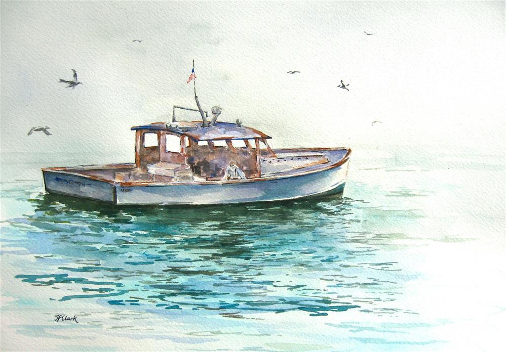 """Morning Calm"" original fine art by Judith Freeman Clark"