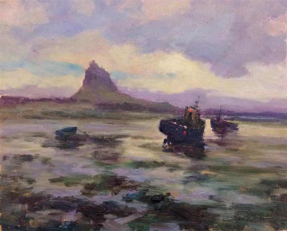 """Lindisfarne"" original fine art by John Shave"