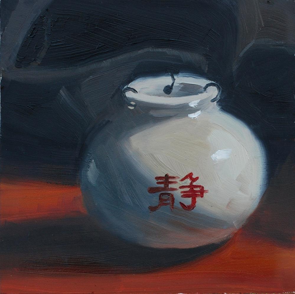 """Inner Peace"" original fine art by Susan McManamen"