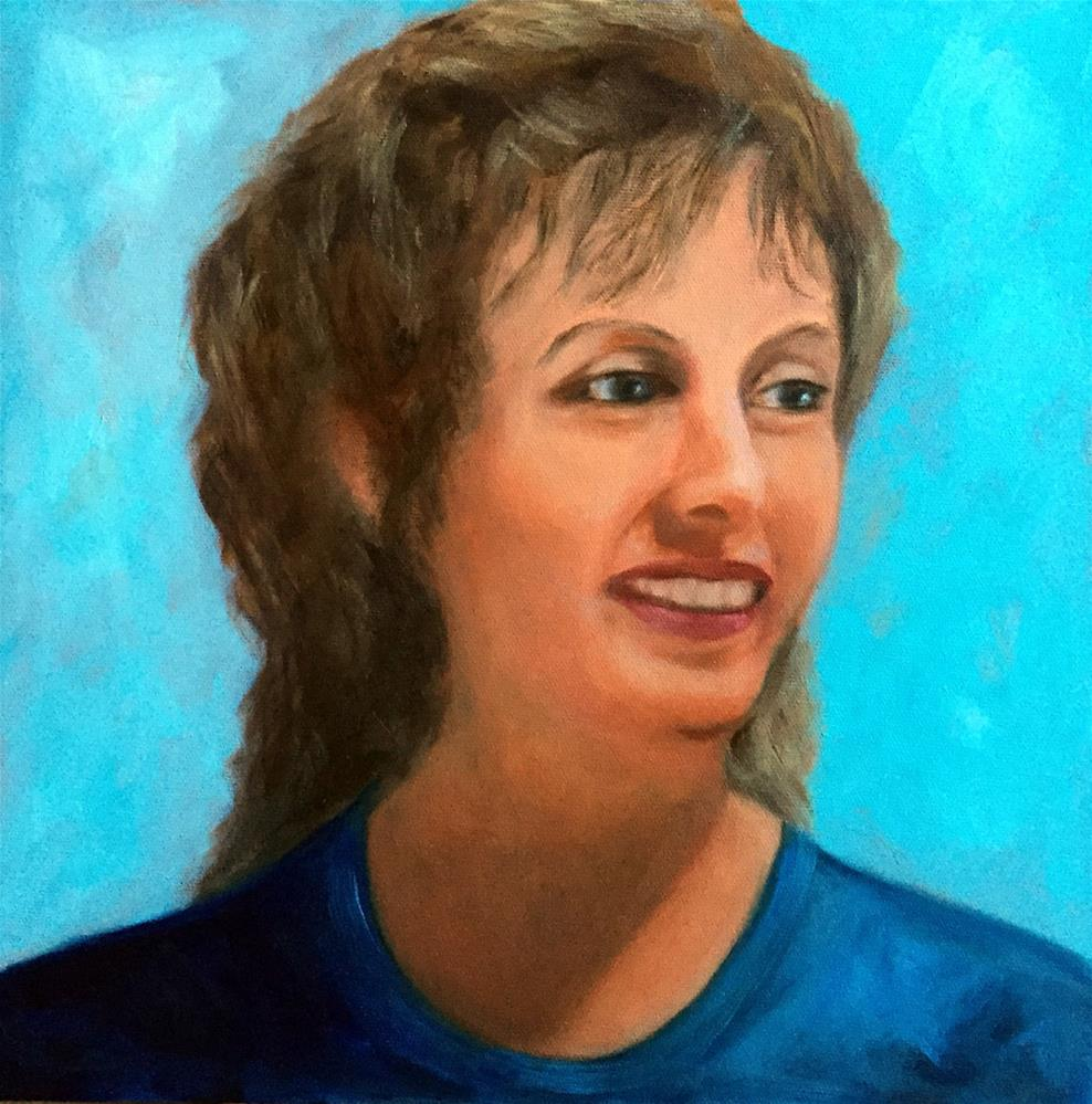 """Julie"" original fine art by Dicksie McDaniel"