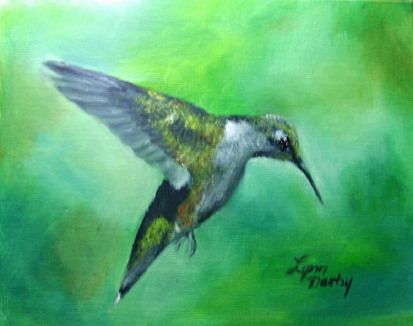 """Preparing to Migrate"" original fine art by Lynn Darby"