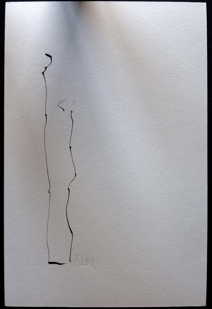 """SON FATHER TIME"" original fine art by Craig Svare"